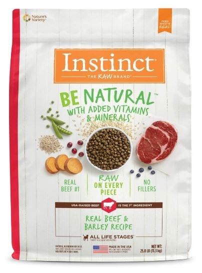 Instinct Be Natural Beef 25Lb