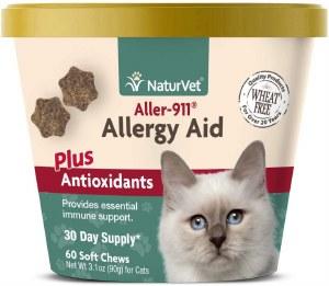 NaturVet Allergy Aid 60Ct