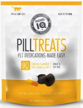 Paws IQ Cat Pill Treat Chicken