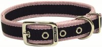 1x22 RosePink 3Stripe Collar