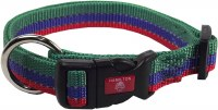 3/8x7-12 Green-Blue-Red Collar