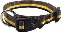 5/8x12-18 Brown-Yellow Collar