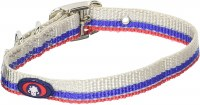 5/8x16 Grey-Blue-Red Collar