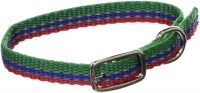 3/8x12 Green-Blue-Red Collar
