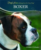 Dog Life Boxer Hard Cover Bk
