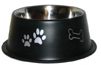 64oz Black NonTip Bowl 8505-BK
