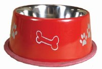 32oz Red NonTip Bowl 8503-RD