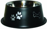 64oz Black NonTip Bowl 8505-BK