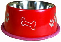 64oz Red NonTip Bowl 8505-RD