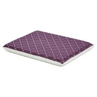 24 Inch Plum Diamond Dog Bed