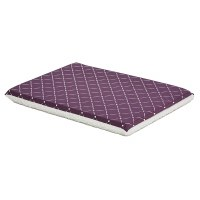 30In Plum Diamond Pattern Bed