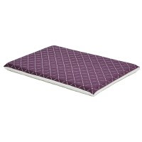 36In Plum-Diamond Dog Bed