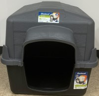Gray Dog House 32 Inch