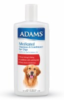 Adams Medicated Sham-Cond 12oz