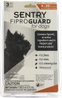 Fiprogd Dog under 22lbs  3Pk