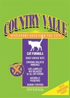 CountryValueCatFood-Ckn 20Lbs