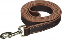 Circle T Leather Lead 1In x 6f