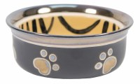 Copper Rim Tiger Stripe Bowl