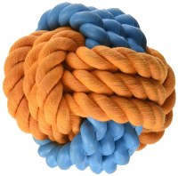 Tough Twist Rubber Rope Ball