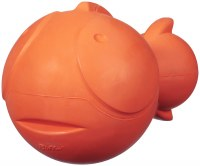JW Rubber Fish Dog Toy Large
