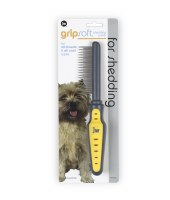 Grip Soft Shedding Comb