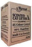 Harvest ScntdClump Litter 50Lb