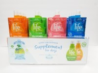 Life Supplement Dogs Display