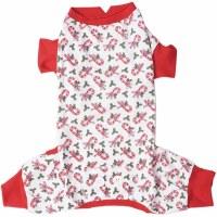 Candy Cane Dog Pajamas Small