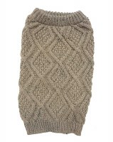 Fisherman Taupe Sweater XSmall