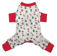 Jingle Jam Dog Pajamas Small