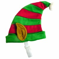 Elf Hat Red and Green Sm