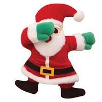 Dabbing Santa Claus