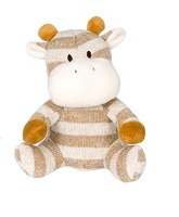 Wags & Purrs Knit Cow 7.5IN