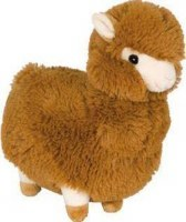 Wags & Purrs Alpaca Brown 11In