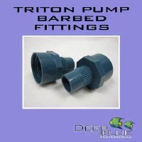 Triton Barbed Fitting for Pump