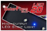 Deep Blue Solar Strip Light 24