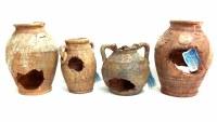 Ancient Seascape Vases 4 Pk