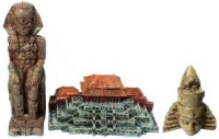 Ancient Ruins Ornament 3Pcs