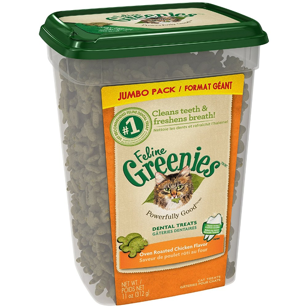 Greenies Cat Chicken Trts 11oz