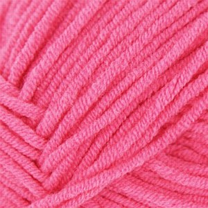 Babe Softcotton Worsted - Shock Pink