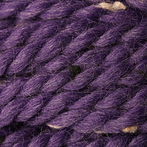 Baby Alpaca Grande Tweed-Grape