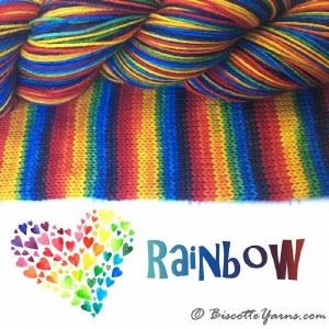 Bis-sock - Rainbow