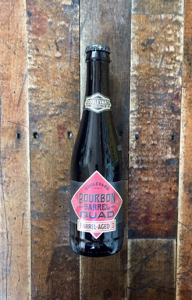 Bourbon Barrel Quad - 12oz