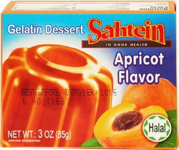 Sahtein Apricot Jello