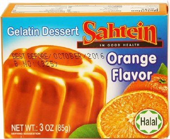 Sahtein Orange Jello