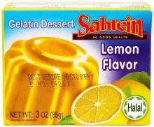 Sahtein Lemon Jello