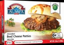 Al Safa Beef Cheese Patties