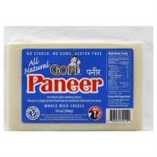 Gopi Paneer Whole Milk 14 Oz