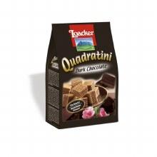 Loacker Wafer Quadratini Dark