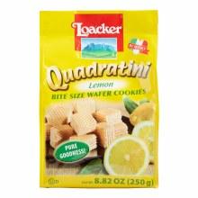 Loacker Wafer Quadratini Lemon
